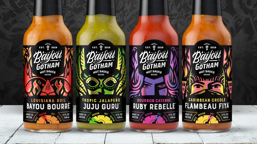 Bayou Gotham® Hot Sauces project video thumbnail