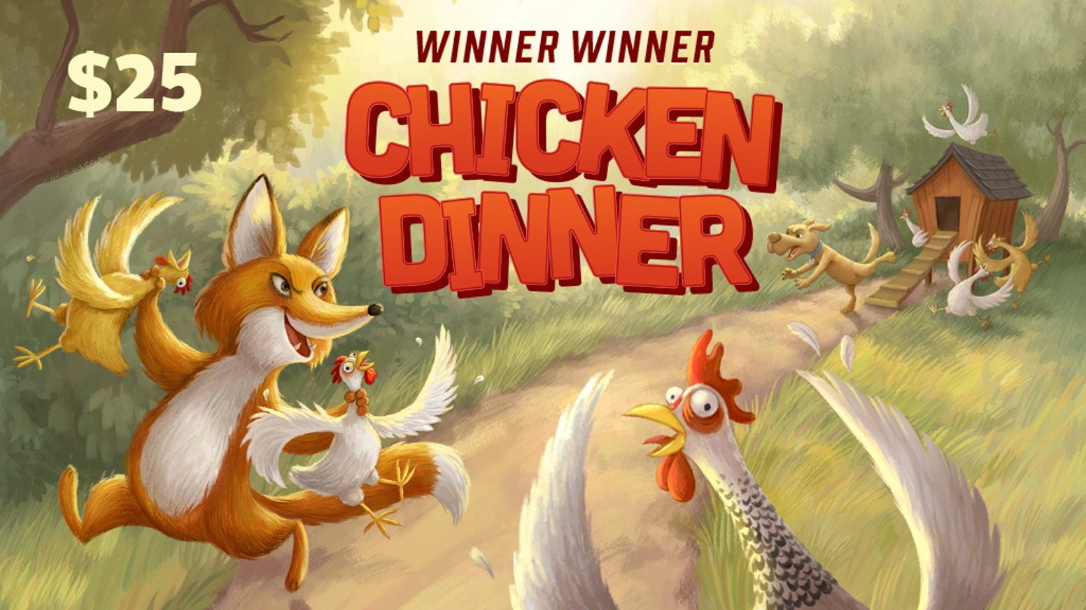 A fun family game of dice chucking & chicken clucking for 2 to 4 players ages 8+.