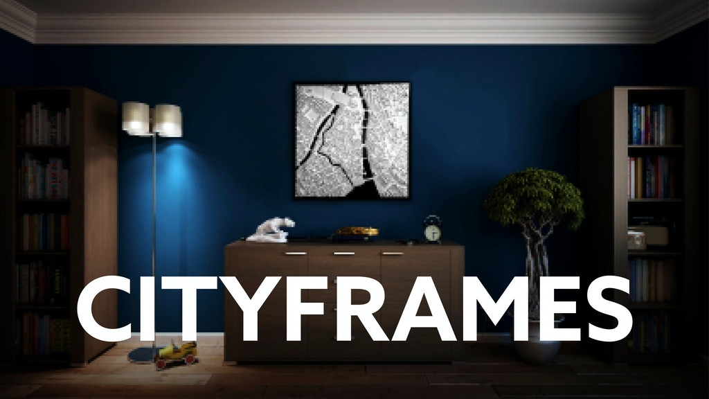CITYFRAMES - Unique Design - 3D City Model