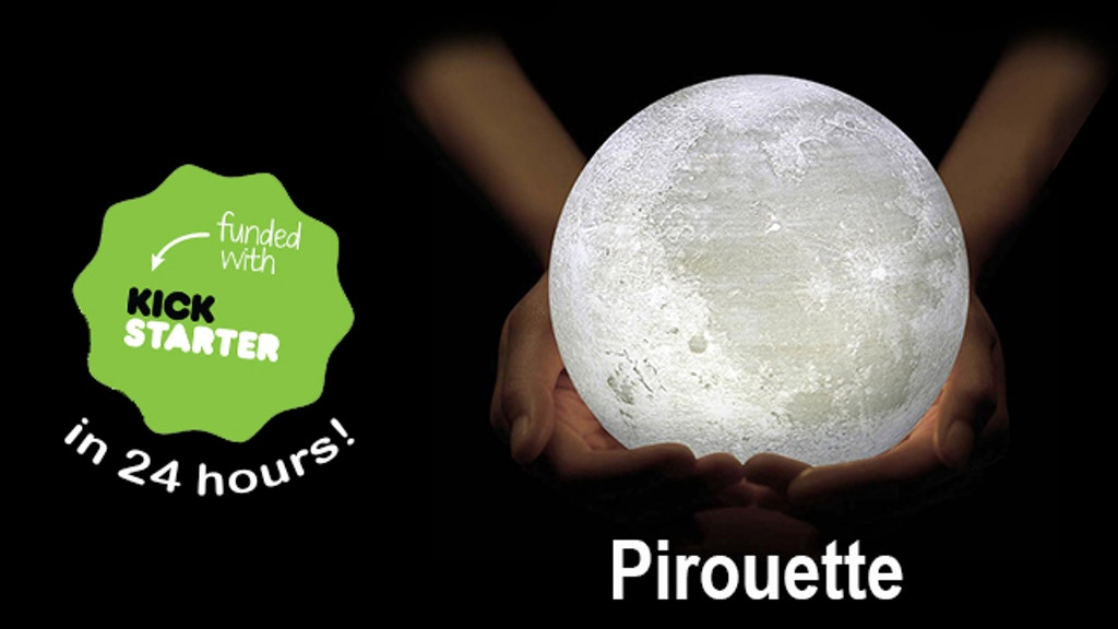 Pirouette - Simple Moon Lamp Redesigned project video thumbnail