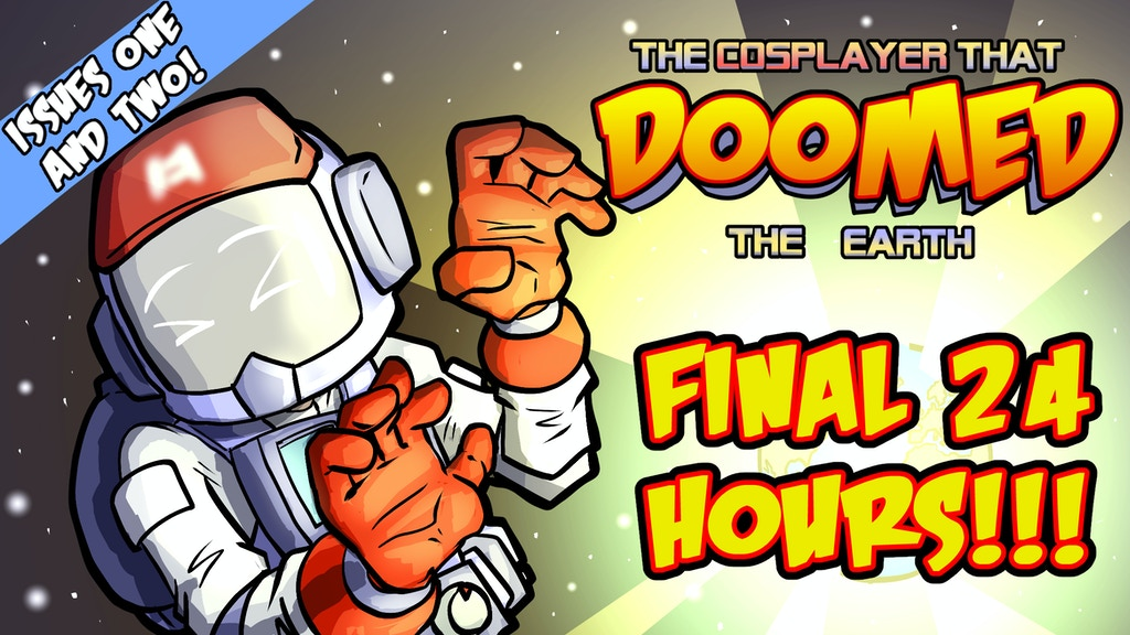 The Cosplayer that DOOMED the Earth, issues 1 & 2 project video thumbnail