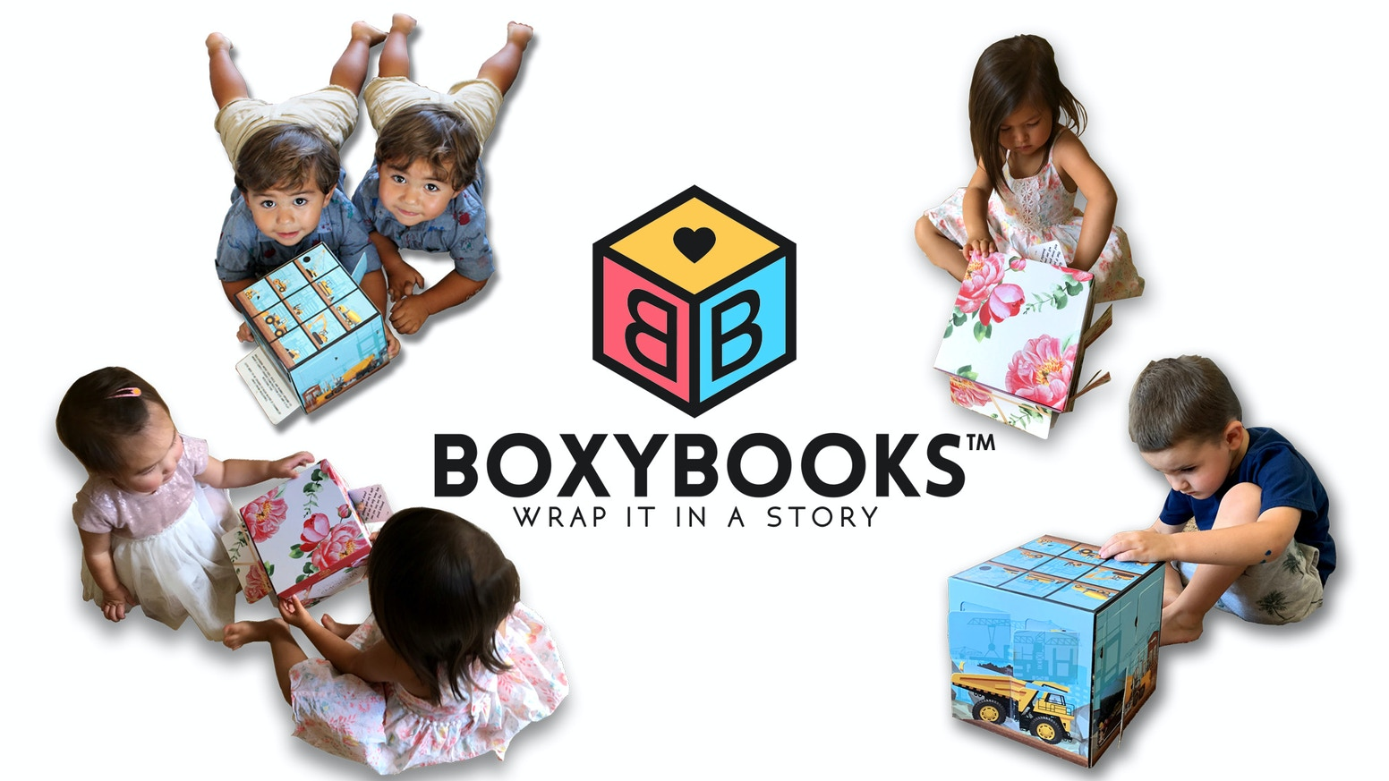 Not your ordinary box.  It's a Children's Book, Gift, and Toy Storage Box ALL-IN-ONE
