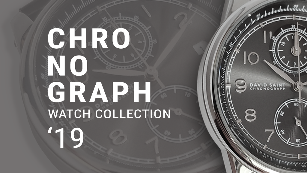 Chronograph Watch Collection '19 of DAVID SAINT
