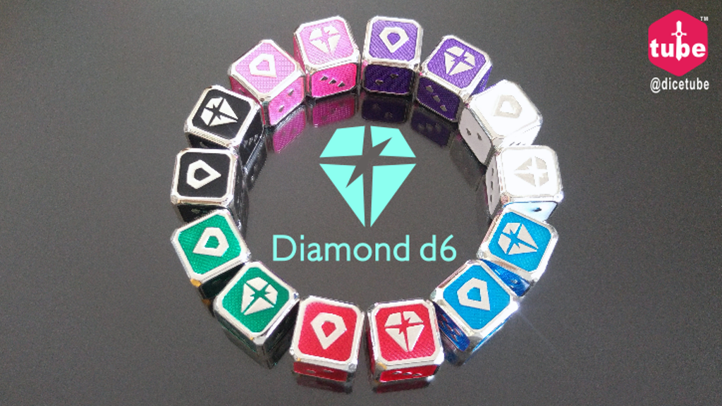 Project image for Diamond d6 dice (Canceled)