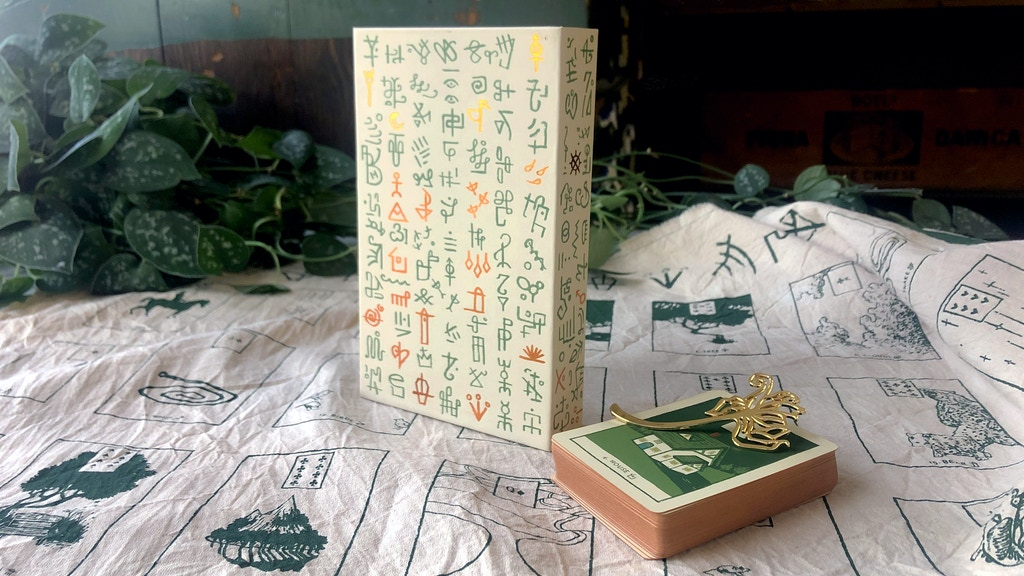 Green Glyphs Lenormand project video thumbnail