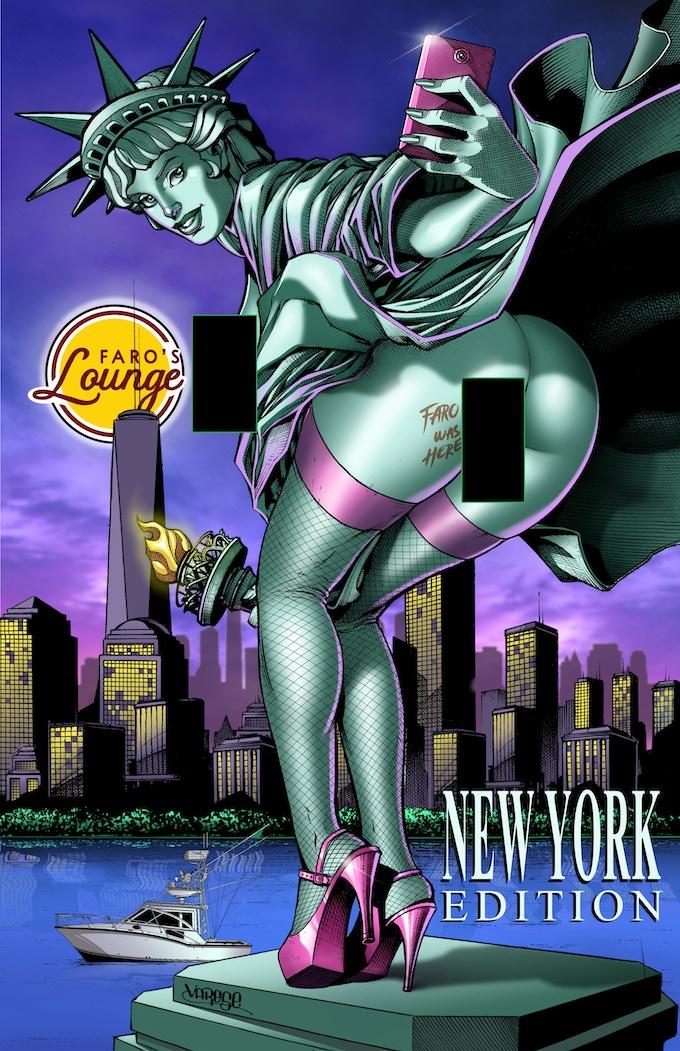 Faro's American Safari -- New York -- Dr Strangelove Cover