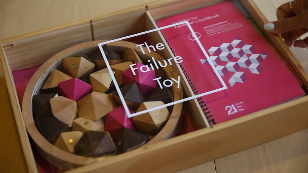 The Failure Toy - teaching the F-word to all ages project video thumbnail