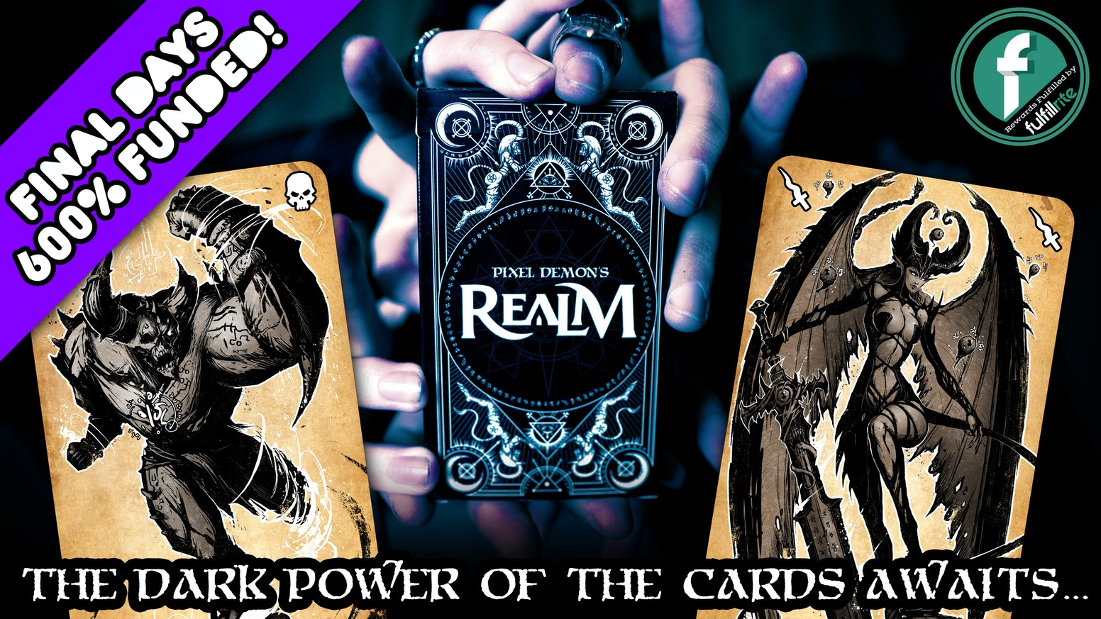 A diabolical strategy card game set in a brand-new fantasy-horror universe.