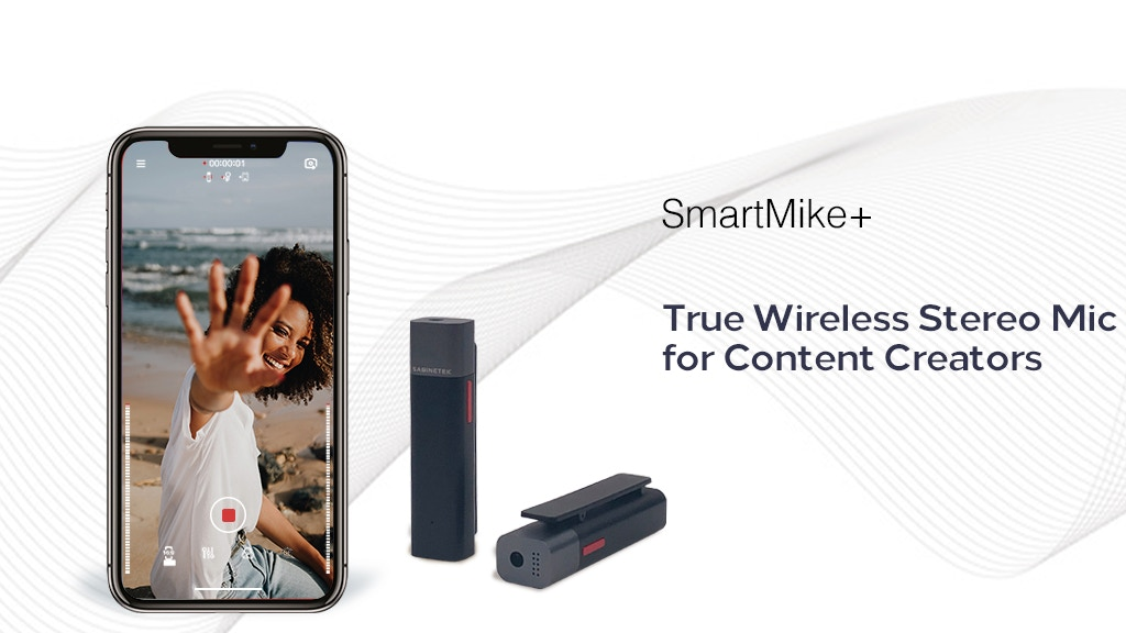 SmartMike+: True Wireless Stereo Mic for Content Creators project video thumbnail