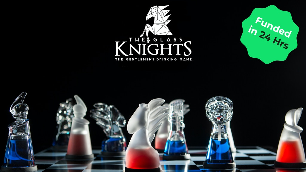 Glass Knights - The Gentleman's Chess Board & Drinking Game project video thumbnail