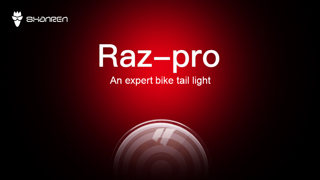 Raz pro -An expert bike tail light