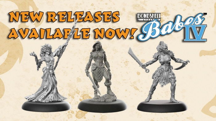 Female Miniatures for your wargames and RPGs.