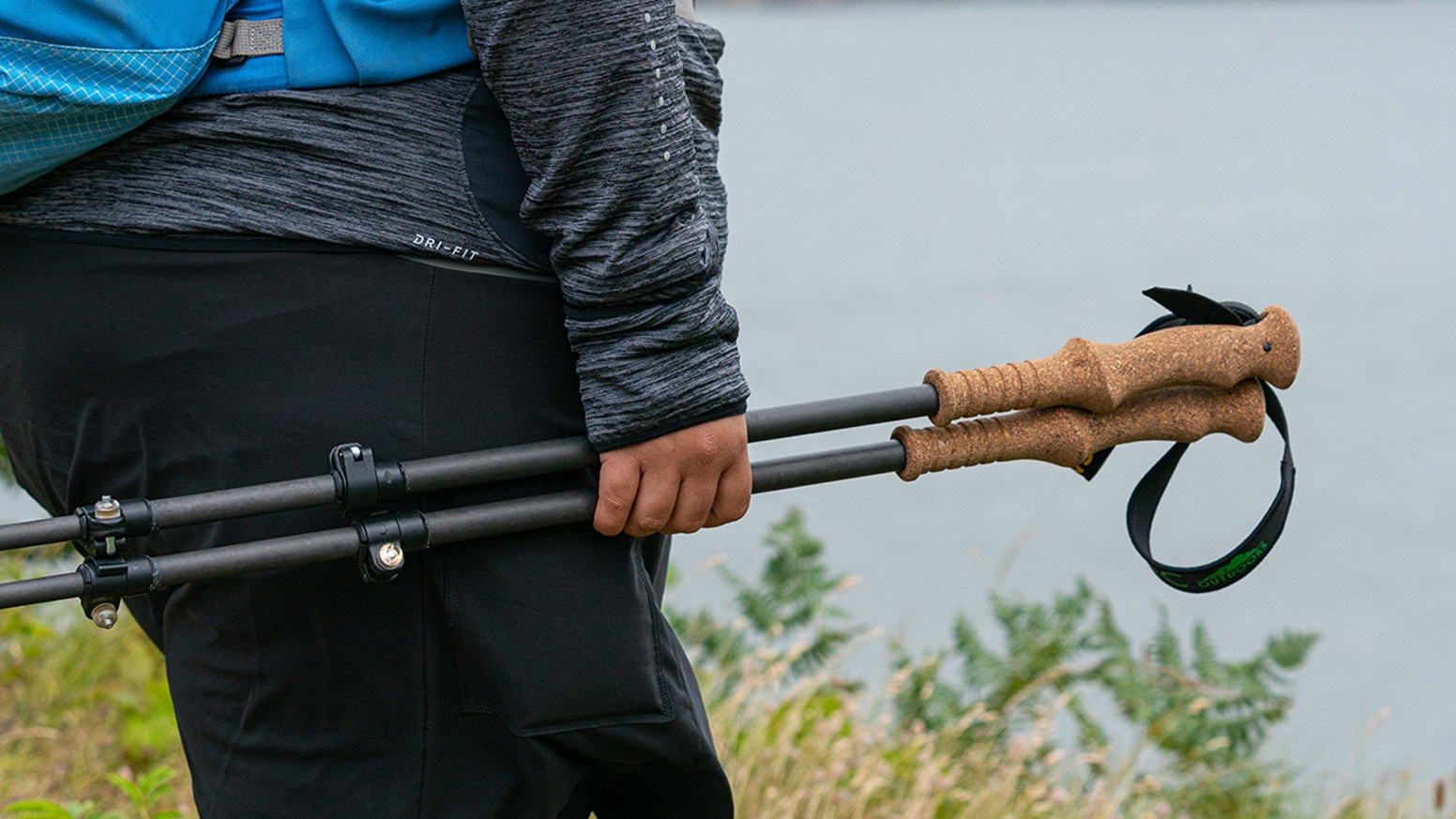 Made in the USA, fully repairable in the field, minimalist design, durable and light telescopic trekking poles