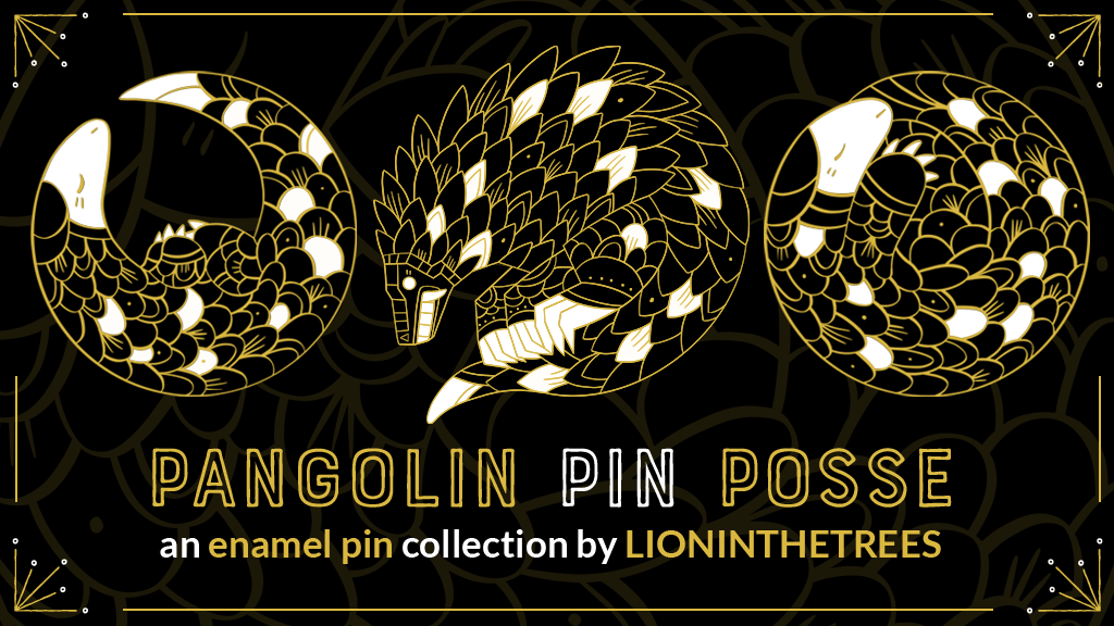 Project image for Pangolin Pin Posse #RecognizeKSRU