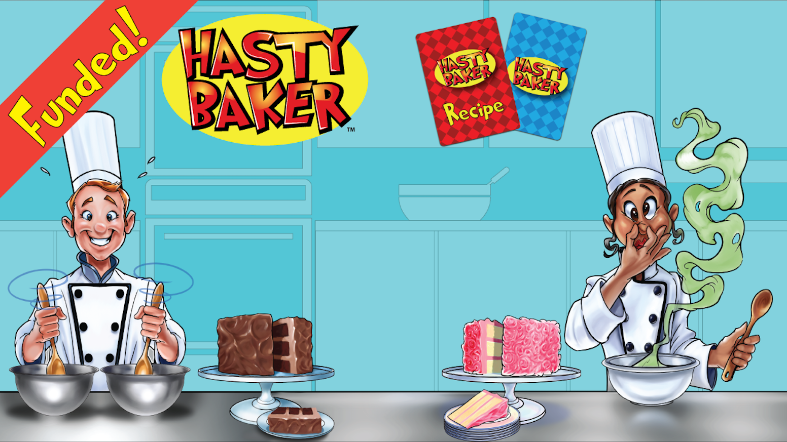 A baking competition card game