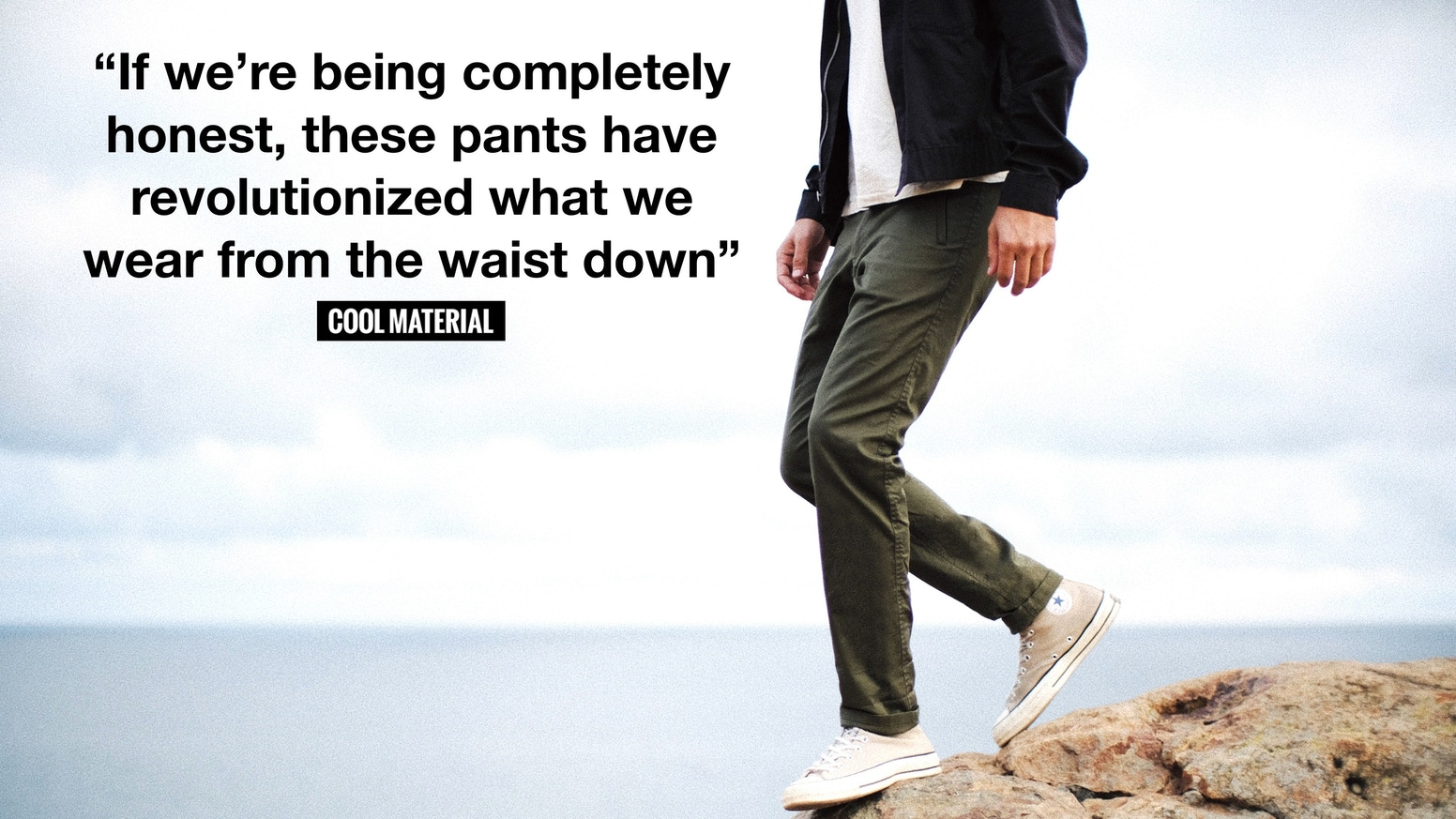 The World's Most Versatile Pant | Sustainably Made in the U.S.A.