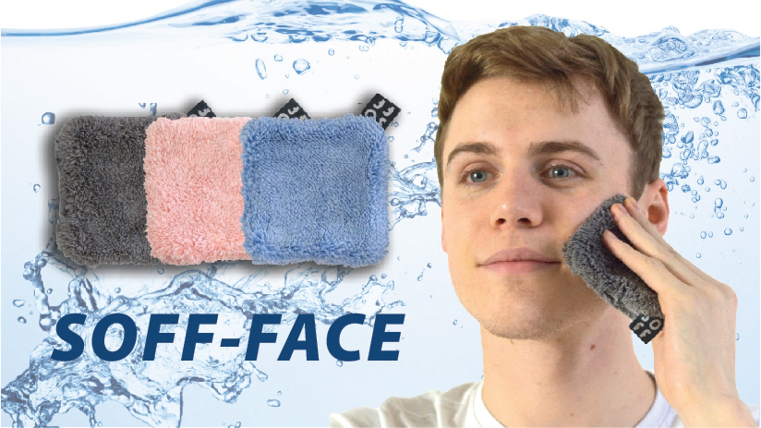 Smart face cleansing pad which is good for your skin and the environment