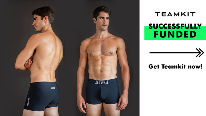 Teamkit presents lightweight, luxury underwear with stitch-free construction, which combats chafing and ride-ups.
