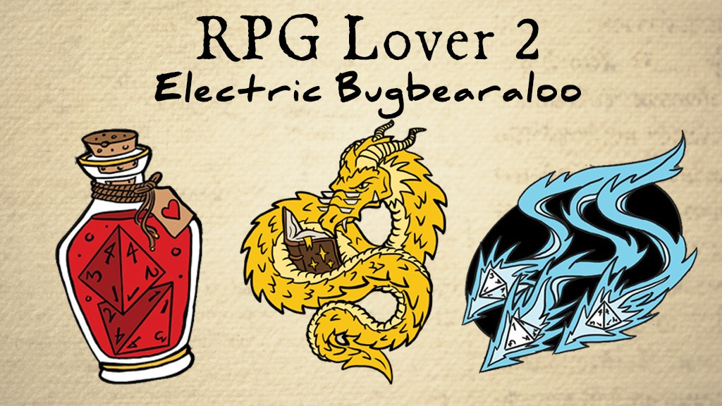 Project image for RPG Lover 2 : Electric Bugbearaloo (Canceled)