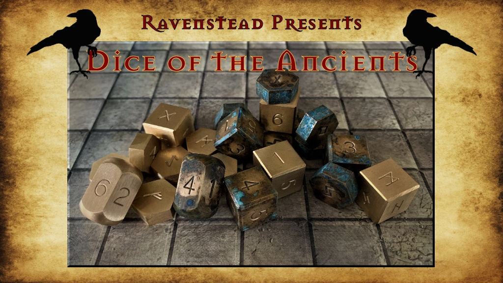 Dice of the Ancients: A Tabletop RPG Accessory project video thumbnail