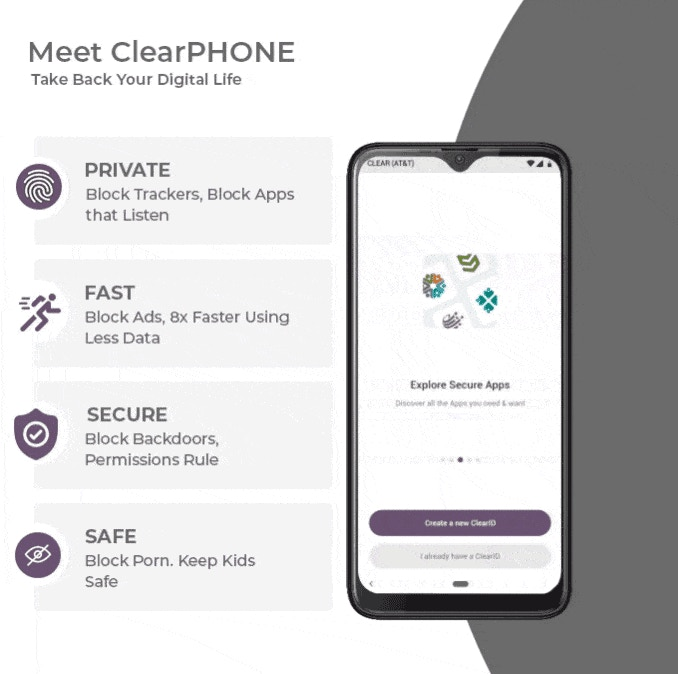 ClearPHONE - Take Back Your Digital Life