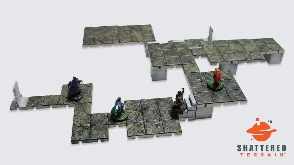 Project image for Labyrinth Terrain Tiles