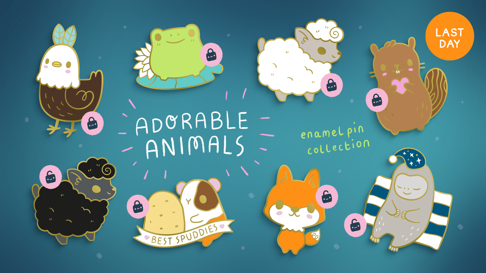 Xintu are back with more enamel pin designs, this time to express our appreciation for our fellow animal friends.