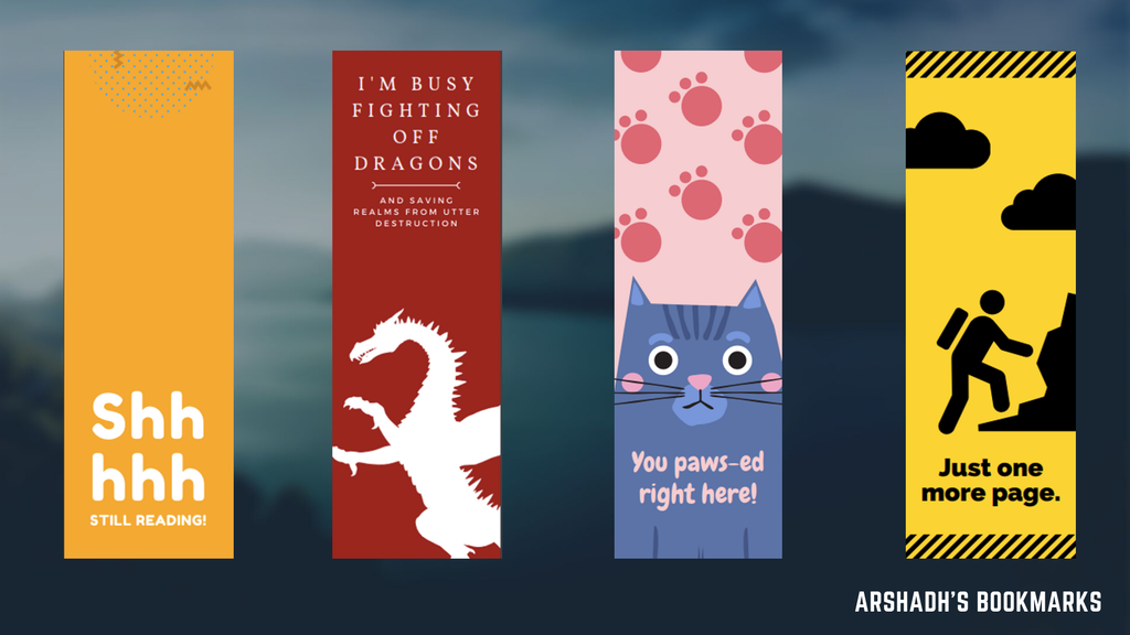 Project image for Arshadh's Anecdotal Bookmarks