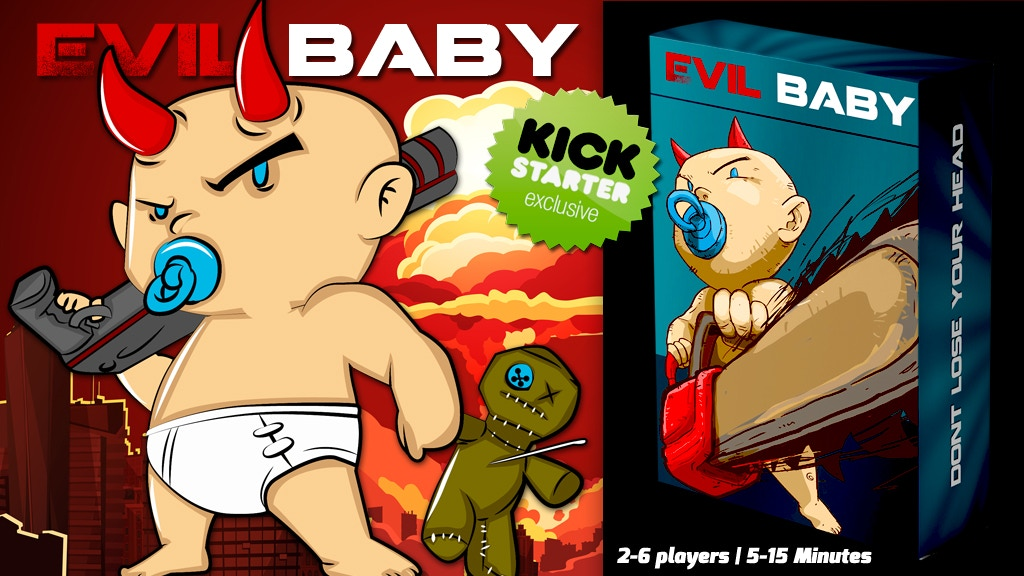 Evil Baby Game Night Edition: Kickstarter Exclusive project video thumbnail