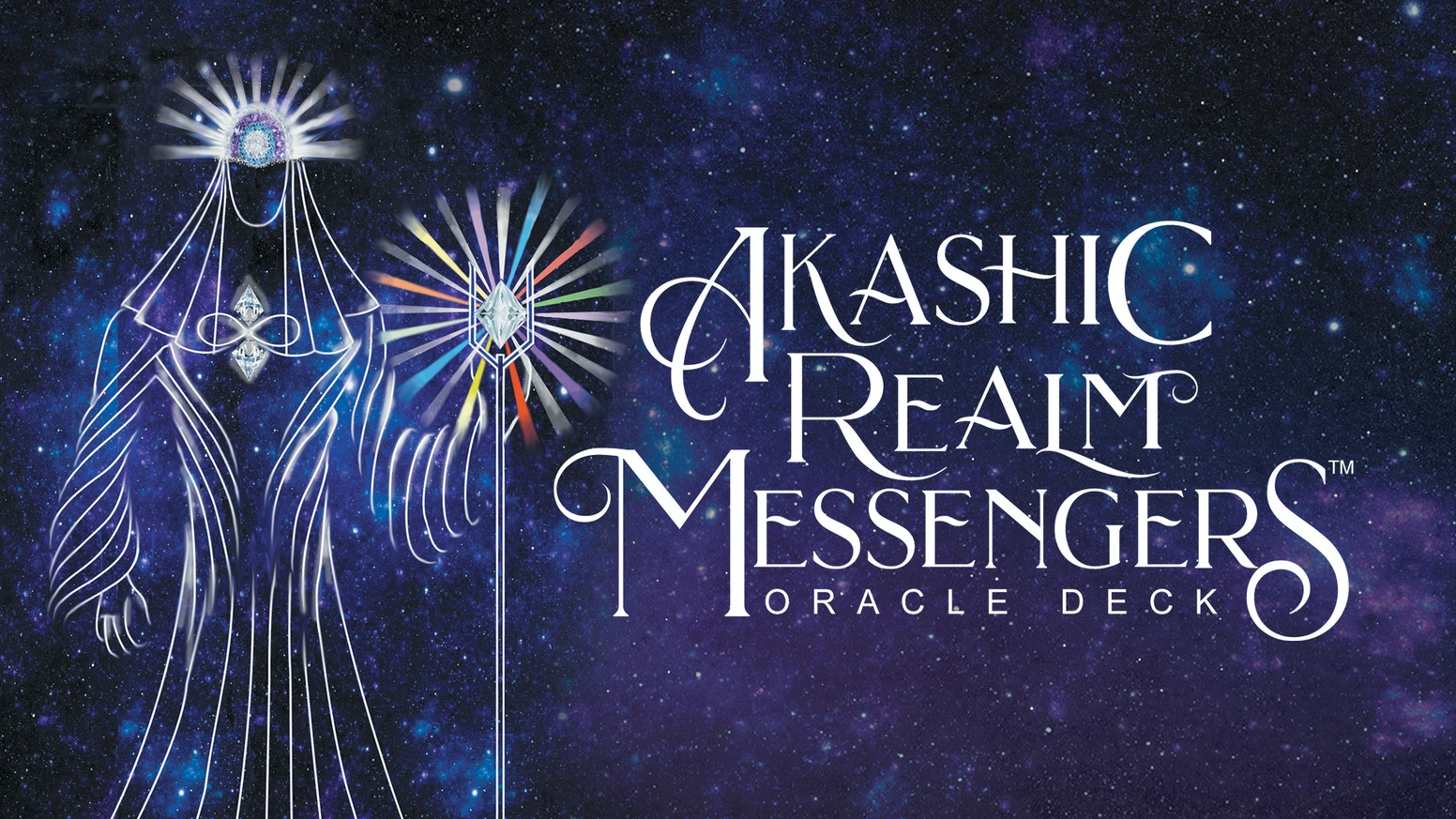 Messengers From The Akashic Realm Bring You Guidance In This Unique 44 Card Oracle Deck + Bilingual Guidebook.(English and Portuguese)