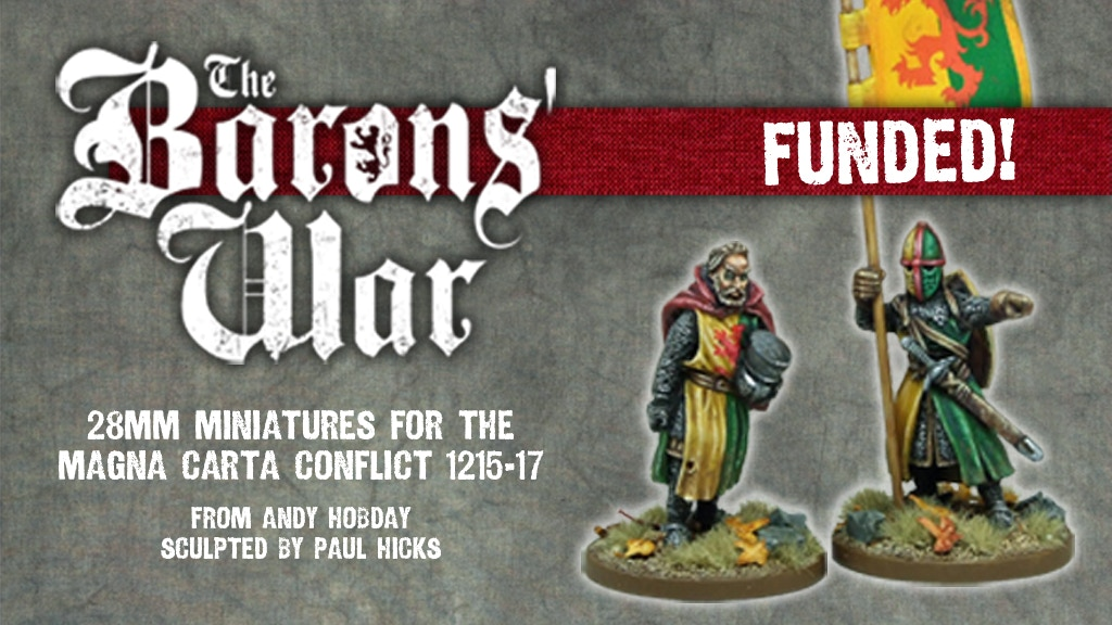 The Barons' War - 28mm Medieval Miniatures project video thumbnail