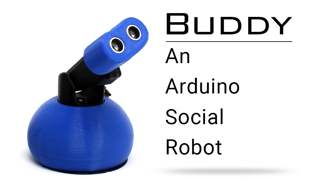 Buddy. An Arduino Social Robot project video thumbnail