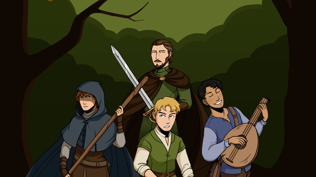 The Adventures of Young Robin Hood Comic Book project video thumbnail