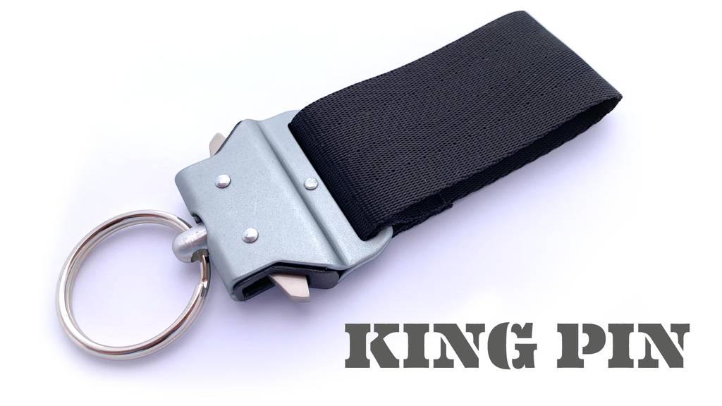 KING PIN Quick Release Belt Loop Keychain Holder