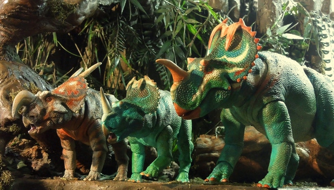 Beasts of the Mesozoic: Ceratopsian Series Action Figures