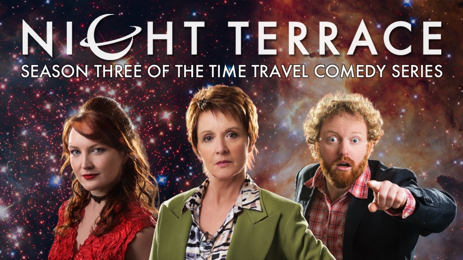 An award-winning time travel audio comedy starring Jackie Woodburne (Neighbours). Third season and new mini-series coming in 2020!