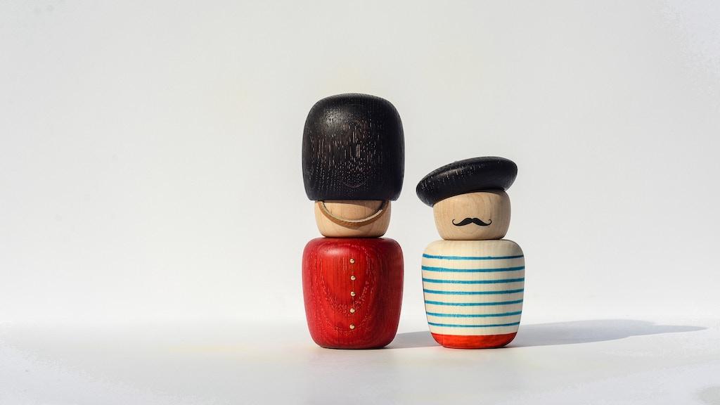 The Motleys: Decorative Wooden Fun project video thumbnail