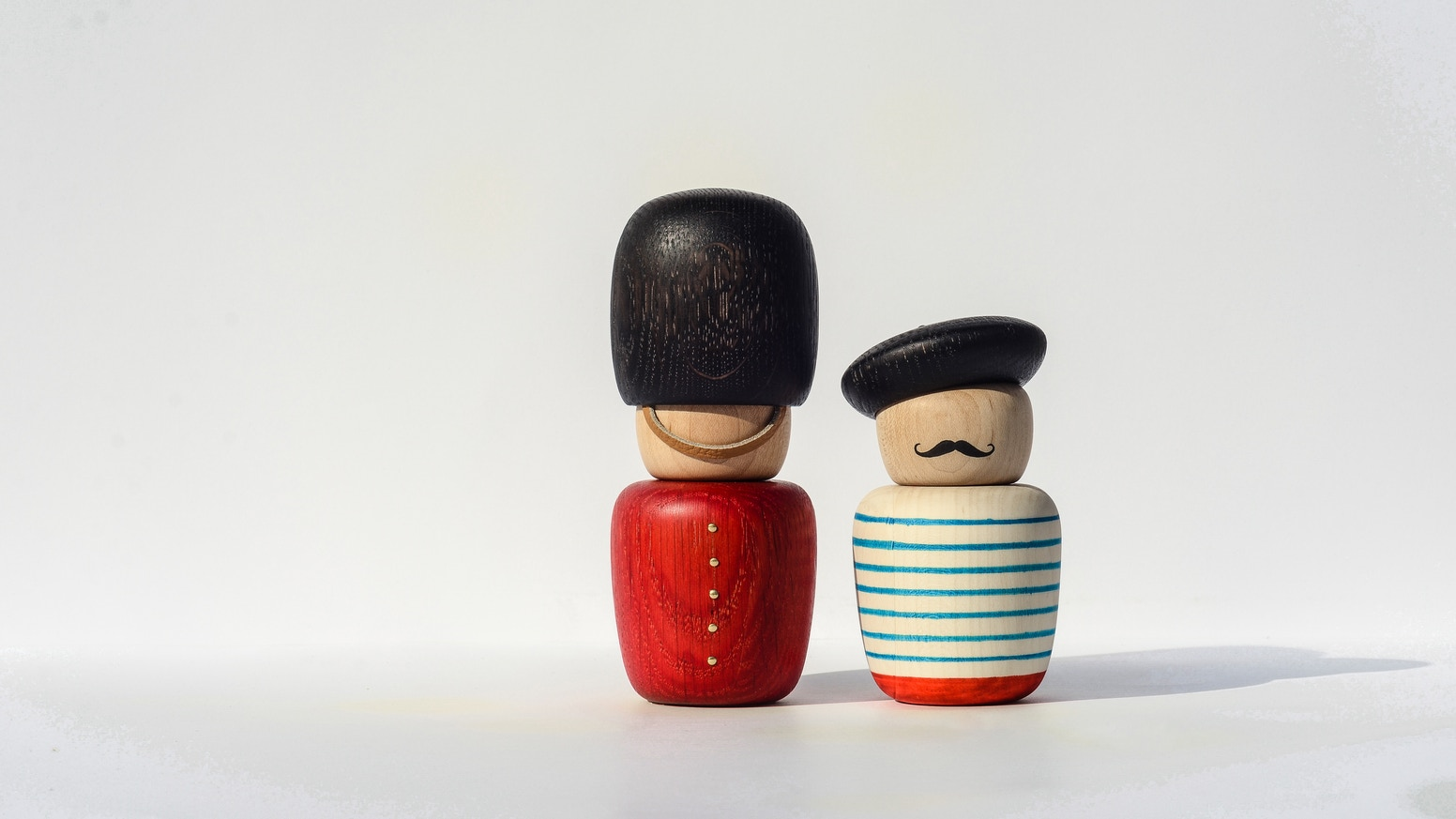 The Motleys, a family of individual wooden characters that playfully showcase different cultures and lifestyles, made by Bright Potato.