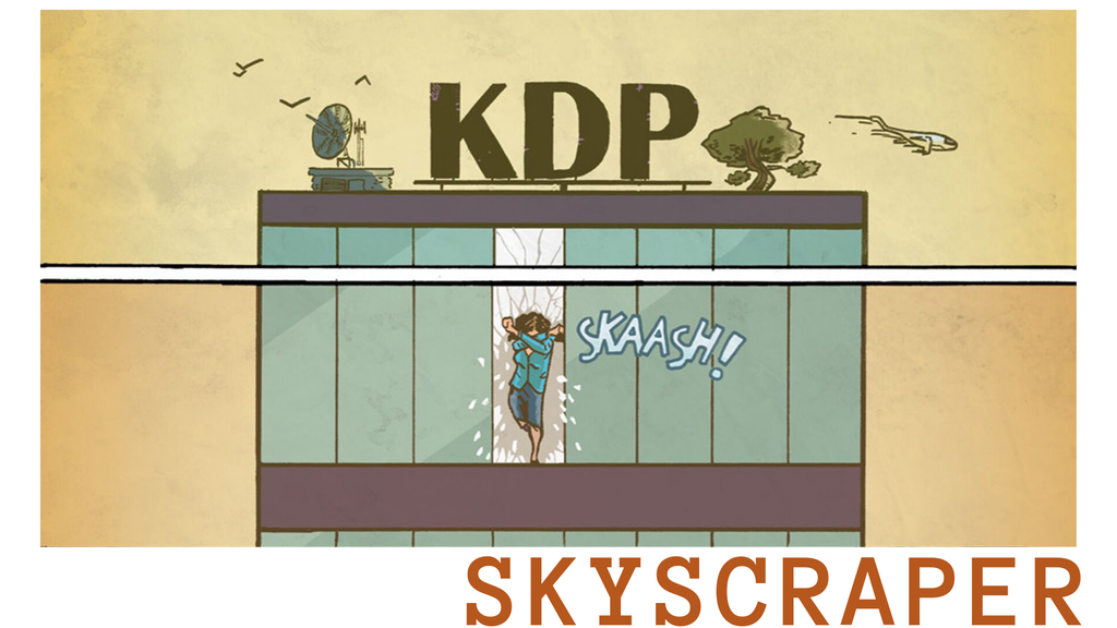 SKYSCRAPER: a newspaper sized mystery comic project video thumbnail