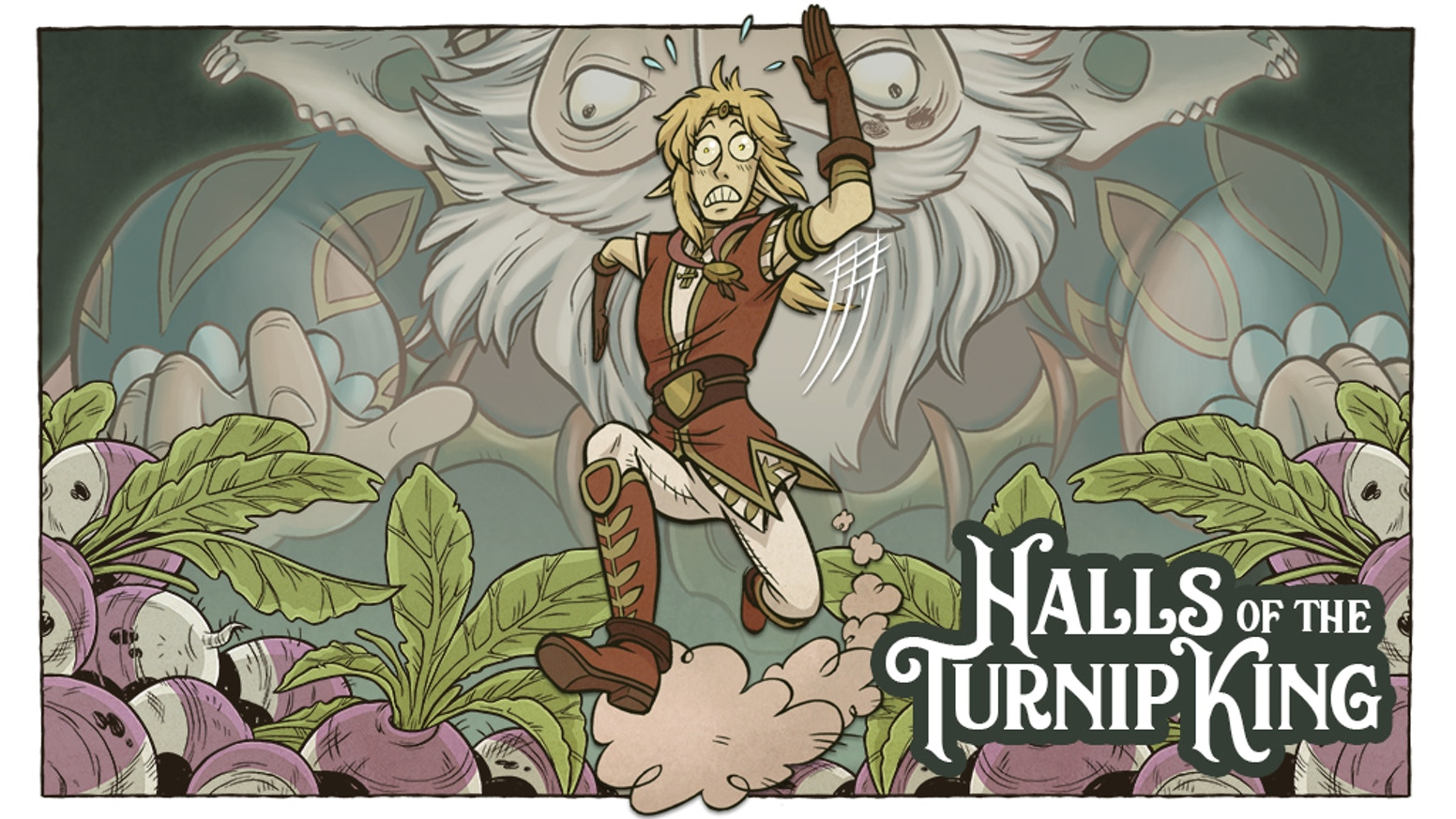 Prince Tatian Elfiore embarks on a royal mission to the Dwarven mines where all hope for peace hinges on one sacred vegetable!