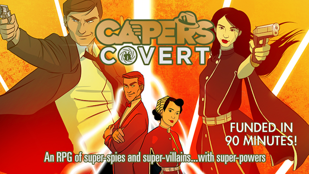 CAPERS Covert RPG project video thumbnail