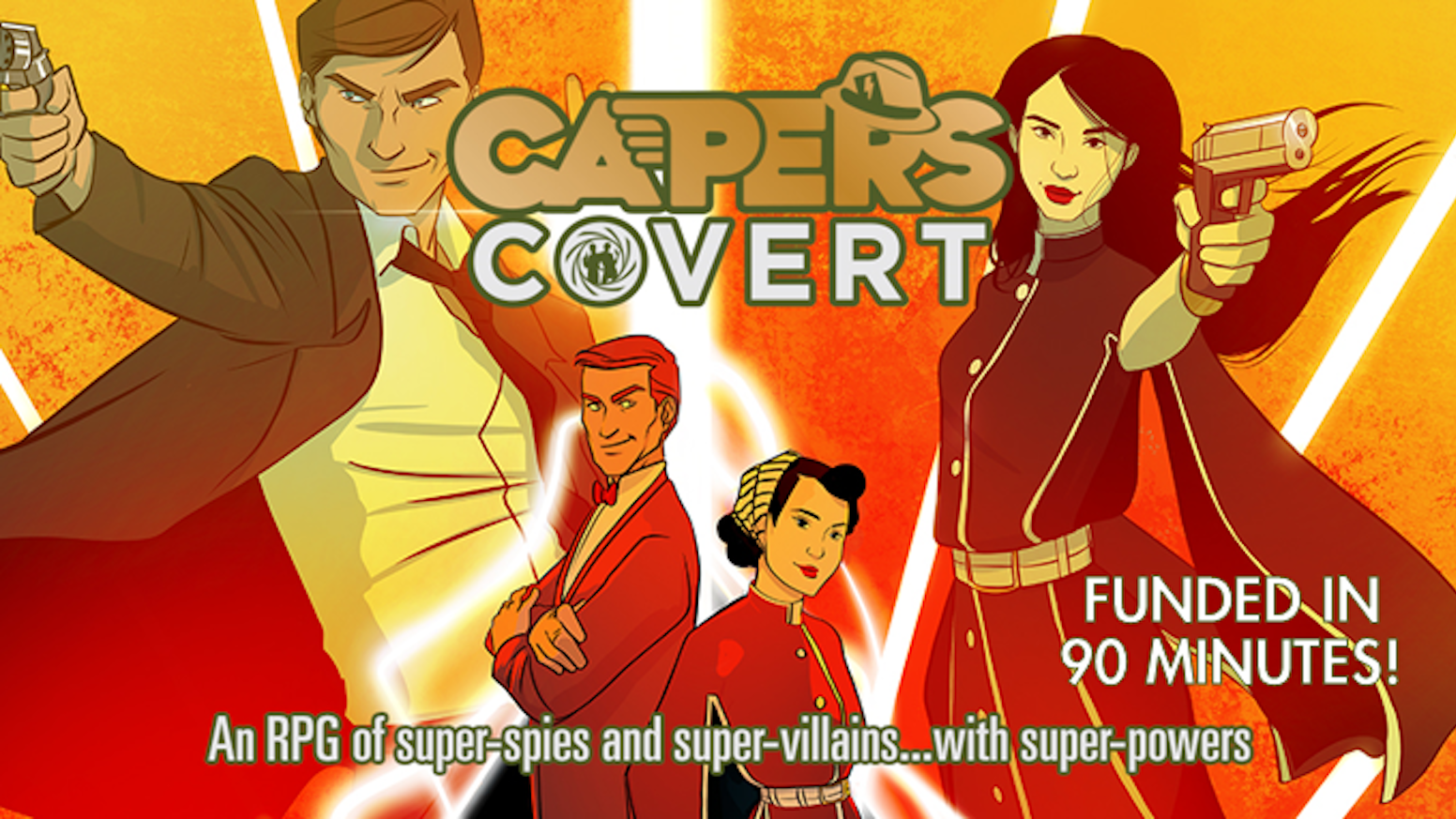 An RPG of Super-Spies and Super-Villains...with Super-Powers!