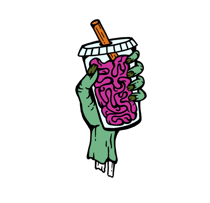 Creature Feature Drinks: an Enamel Pin Series