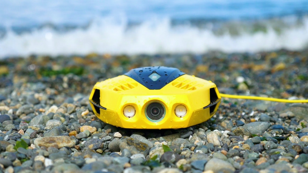 CHASING DORY Underwater Drone project video thumbnail