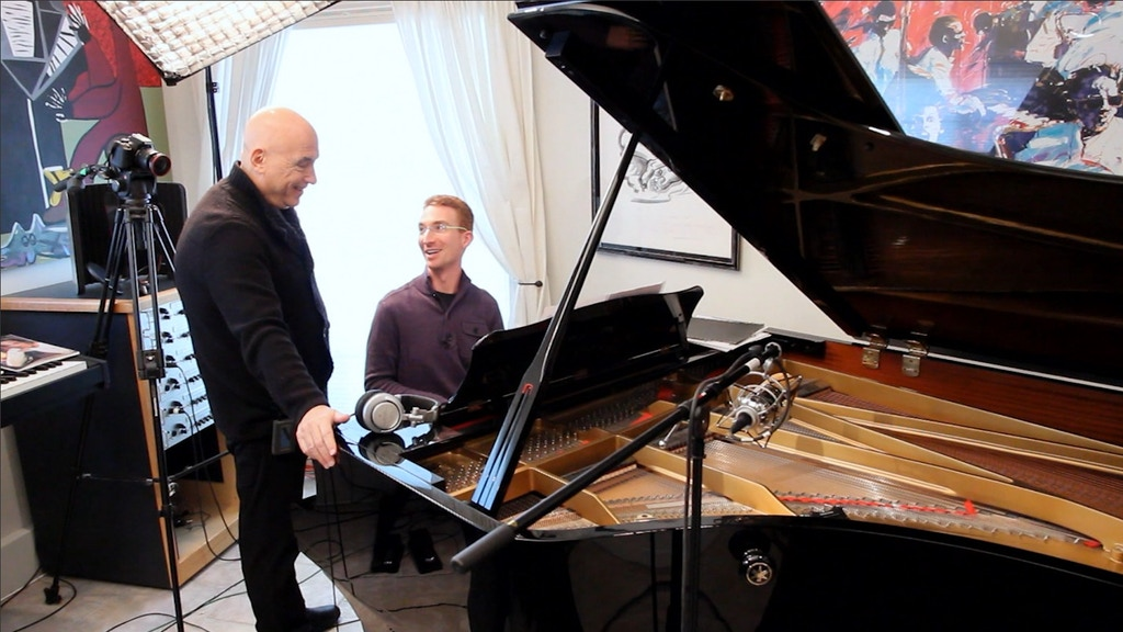 """""""Piano Music of Mike Garson"""" album release project video thumbnail"""