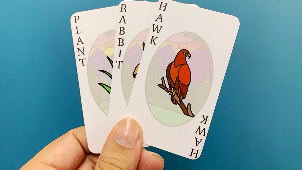 Quickstarter - Plant Rabbit Hawk: A Card Game project video thumbnail