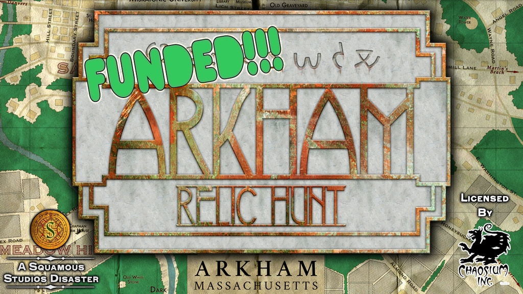 Arkham Relic Hunt Revisited project video thumbnail