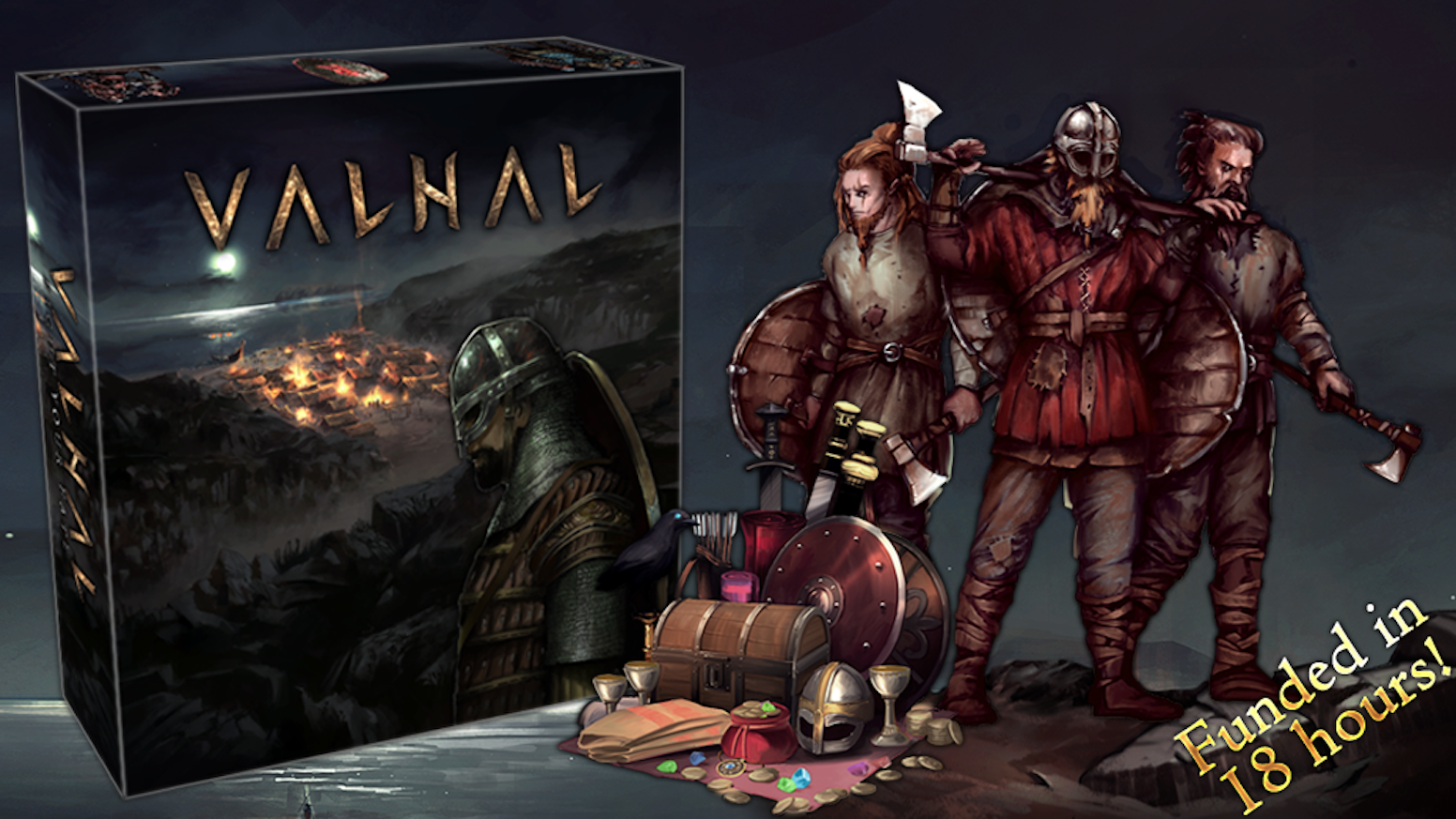 The unique, immersive, lore packed viking experience for history, story and roleplay loving gamers alike.Missed the campaign? Valhal will be available for PreOrder soon. Check out our Facebook page for any updates.