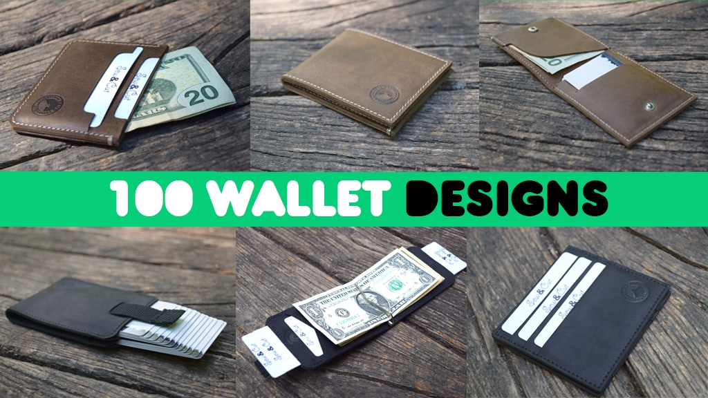 $1 Leather Wallets - The 100 Incredible Designs project video thumbnail