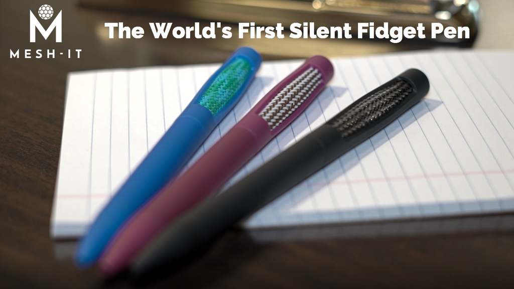 Mesh-It: the silent fidget pen. project video thumbnail